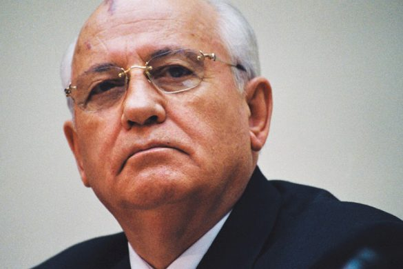 "386198 03: Former Soviet President Mikhail Gorbachev listens during a conference titled ""Perestroika: Our Tomorrow And Our Yesterday,"" March 1, 2001 in Moscow, Russia. Gorbachev turns 70 years-old on March 2. (Photo by Oleg Nikishin/Newsmakers)"