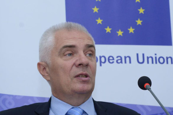 Head of the EU Delegation in Armenia Piotr Switalski gave a press conference at the Media Center