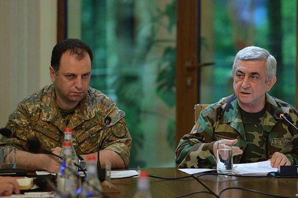 Sarkisian-Military