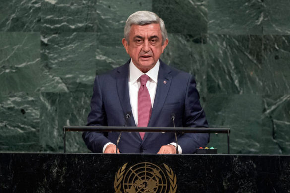 Opening of GA 72 2017 PM  His Excellency Serzh Sargsyan, President of the Republic of Armenia