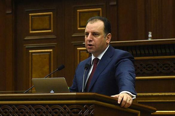 Viken Sarksian Parliament