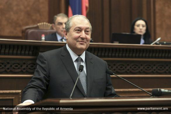 armen sarkissian president elected