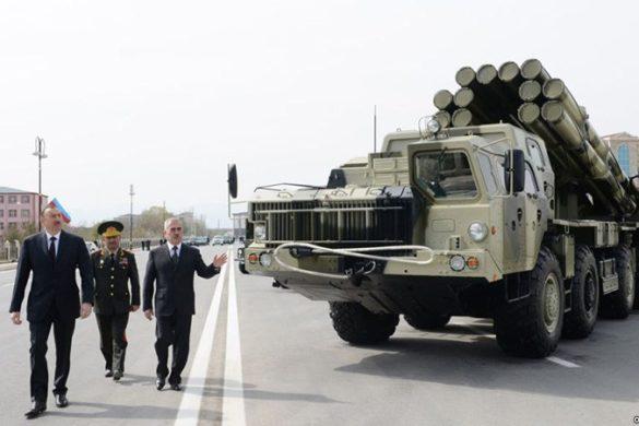 Aliyev-Azeri-Milyary