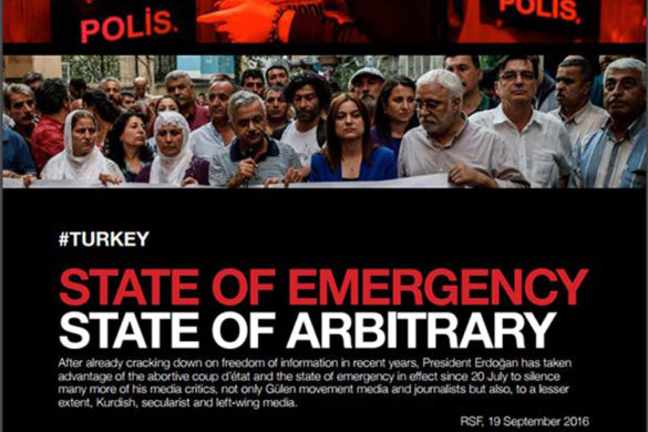 Turkey Sttae of Emergency