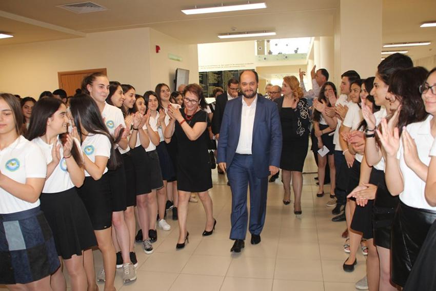 avedisian-Minister of Education