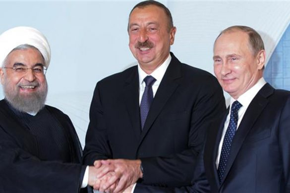 Rouhani-Aliyev-Putin