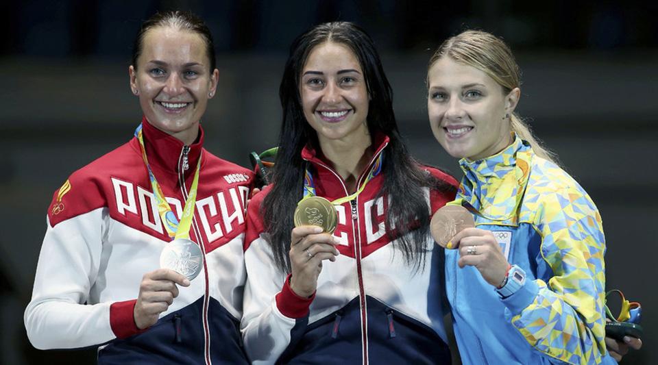 Yana Egorian Wins Fencing Gold