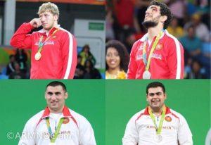 armenia medals