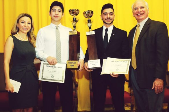 2017 AEF Oratorical Winners