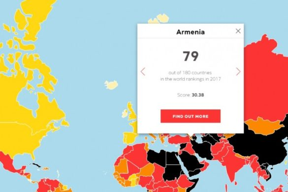 Armenia-Press-Freedom-Index