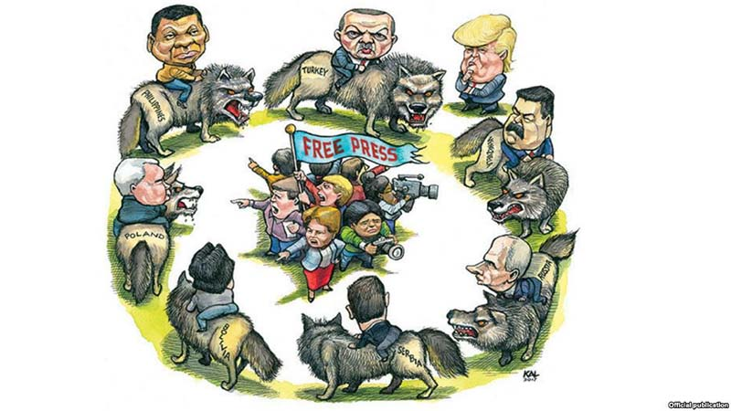 Free-Press-Assault