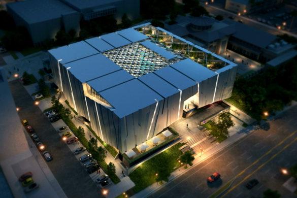 Armenian-American-Museum-Aerial-Night