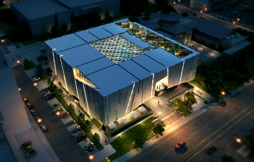 Armenian-American-Museum-Aerial-Night