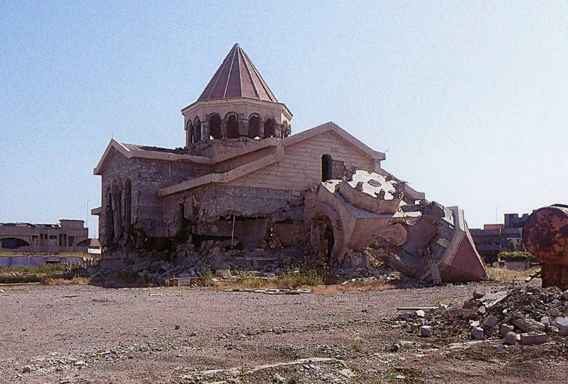 Mousol Church Destroyed