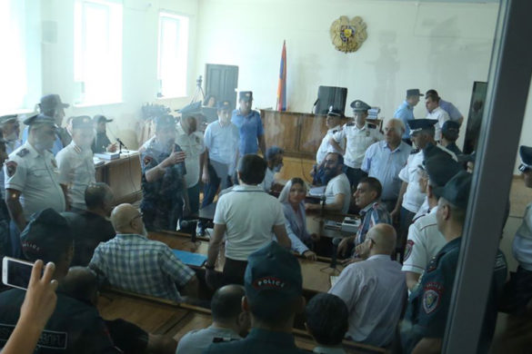Hearings of 'Sasna Tsrer' group's case took place at the Court of General Jurisdiction of Avan and Nor Nork Administrative Districts