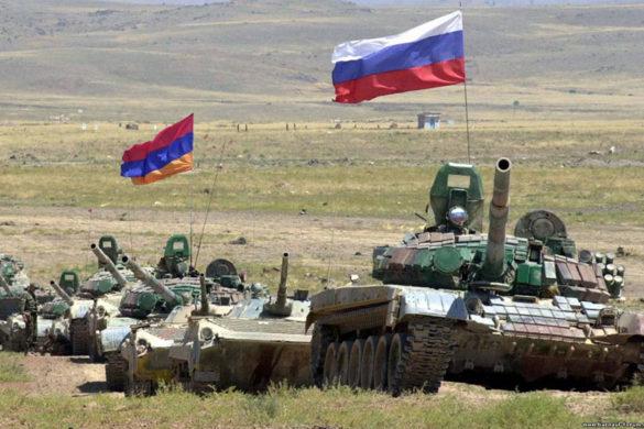 Armenia-Russia-Military