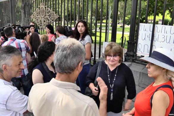 Sevan-Protest