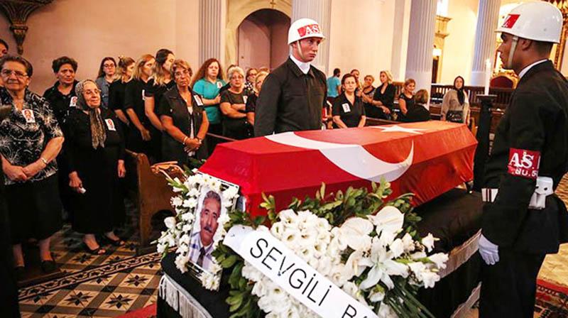Murat Mihran funeral