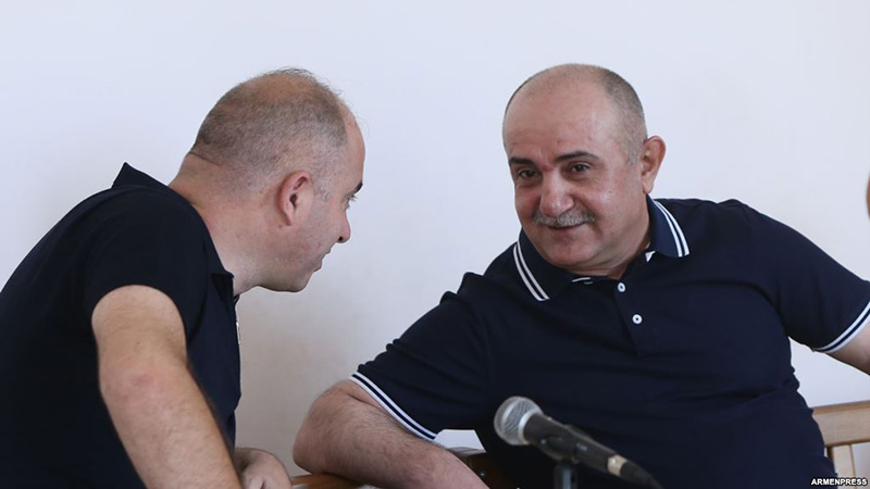 Hearings of Samvel Babayan's case took place at the Court of General Jurisdiction of Kentron and Nork-Marash Administrative Districts