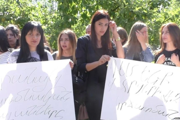 university students protest