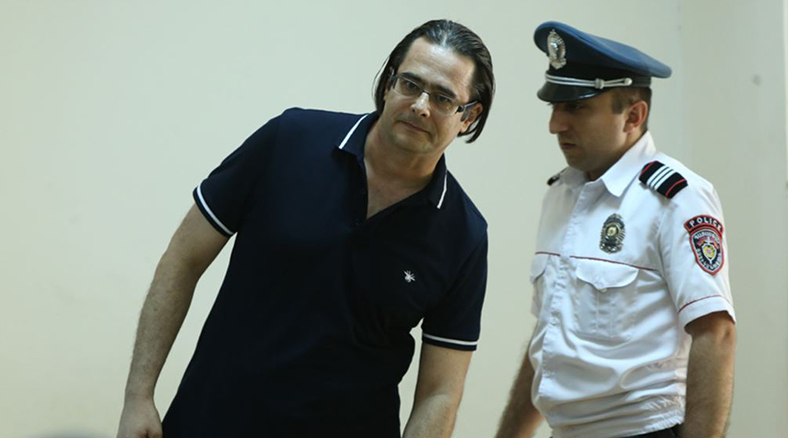 Hearings of Andreas Ghukasyan's case took place at the Court of First Instance of Erebuni and Nubarashen Communities of Yerevan