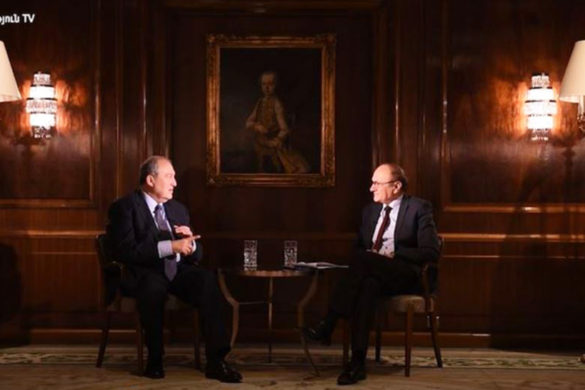 armen sarkissian interview
