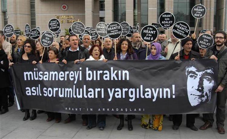 dink trial protest