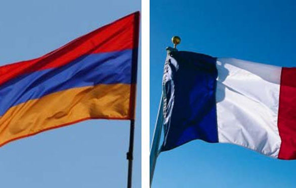karabakh-france-flags