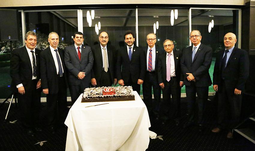 8 AMAA Centennial Cake