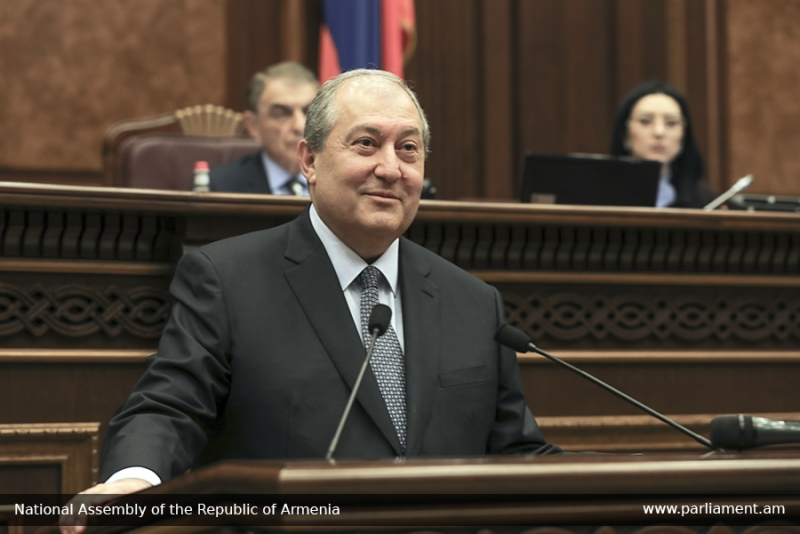 armen sarkissian president elected