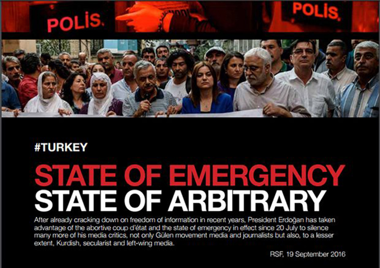 Turkey Sttae of Emergency