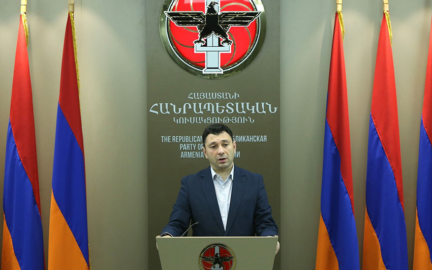 Deputy Speaker of the RA National Assembly Eduard Sharmazanov gave a press conference at the RA Central Electoral Committee