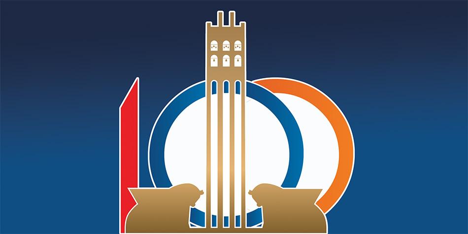 100 logo ssrgb