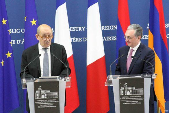 Jean-Yves Le Drian-Zohrab Mnatsakanian