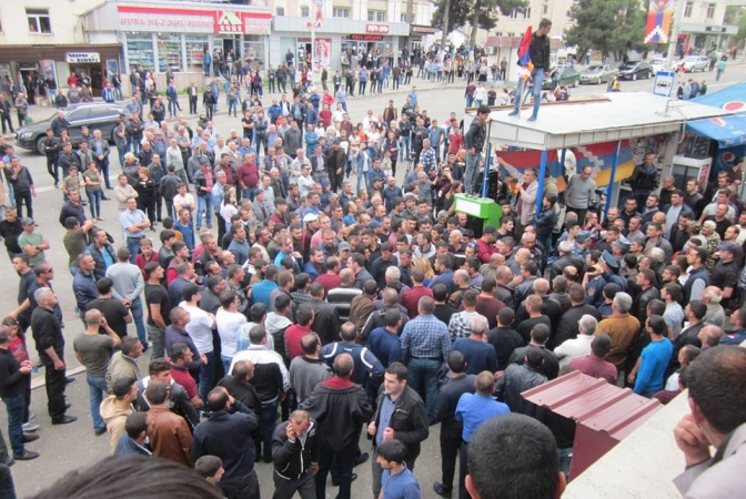 artsakh protests