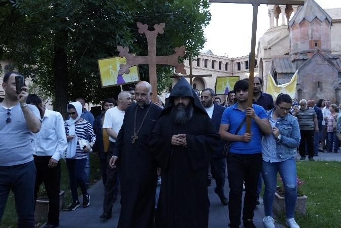 church protest