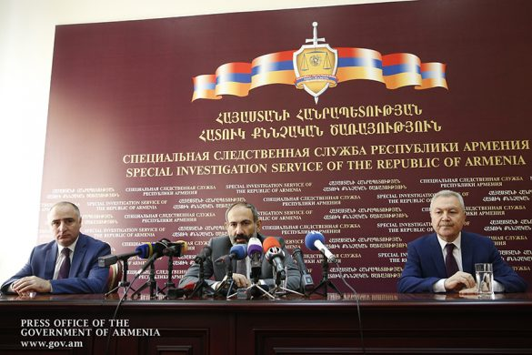 pashinyan-investigative service
