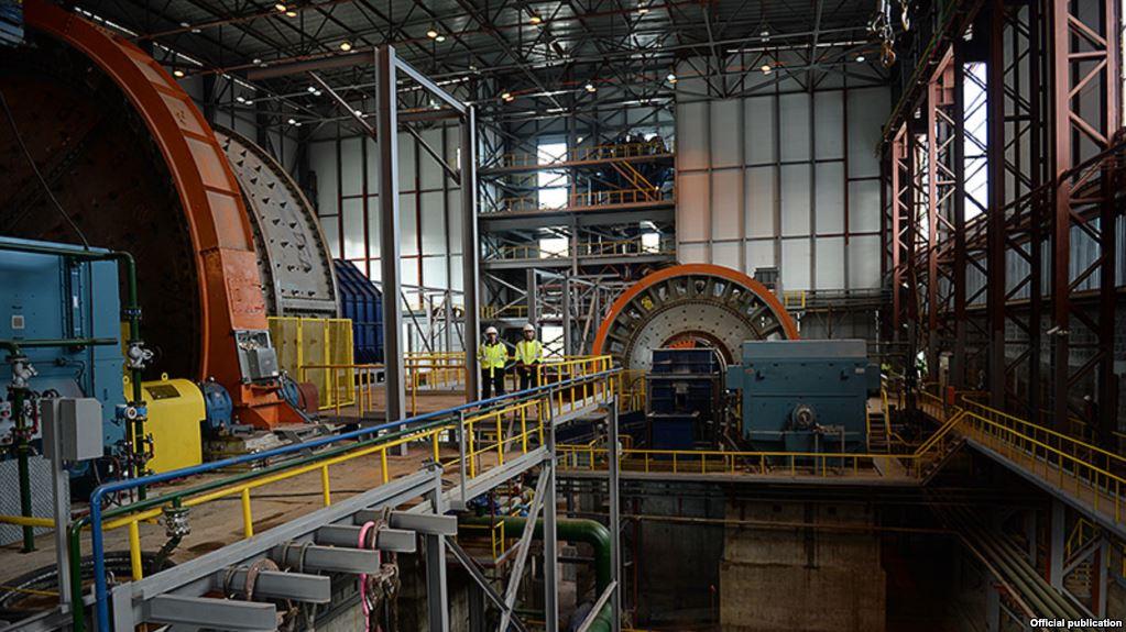 armenia mine industry