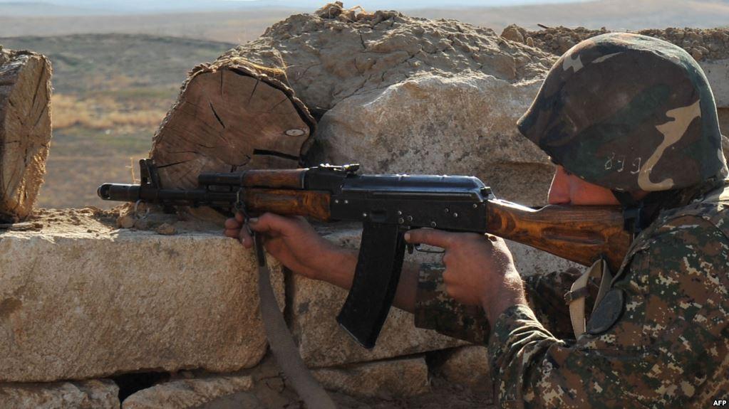 karabakh frontline