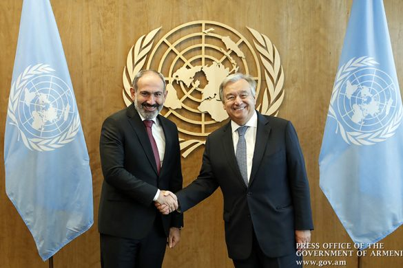 pashinyan-UN chief