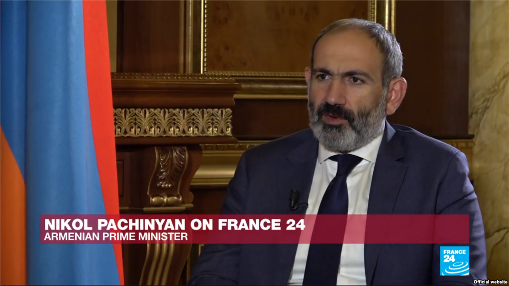 pashinyan-france24