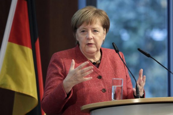 Angela Merkel opens Germany-Ukraine forum