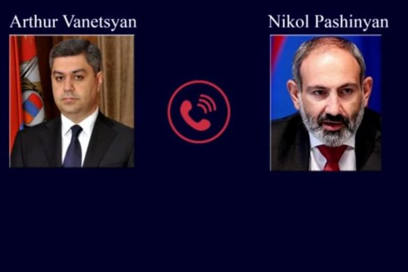 Vantezyan-Pashinyan-Phone