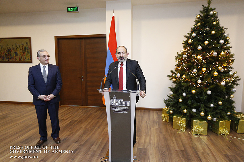 pashinyan-foreign mnistry