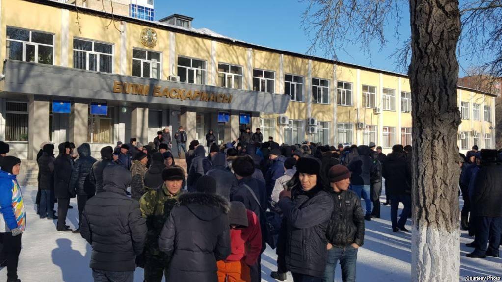 kazakh protest