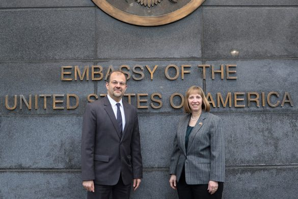 Ambassador Lynn Yerevan
