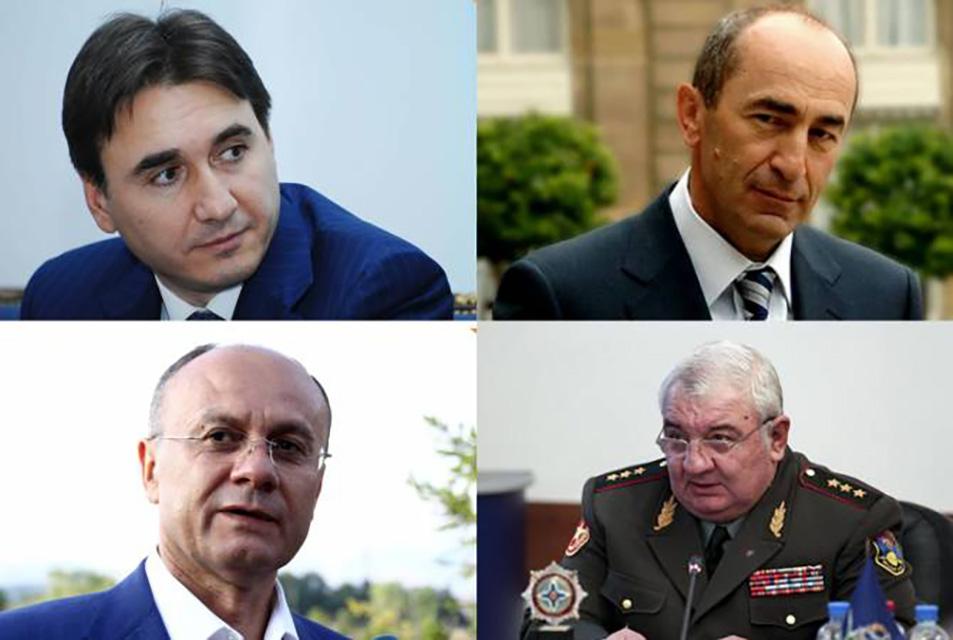 Kocharyan-Ohanyan-Khatchadurov-Kevorkyan