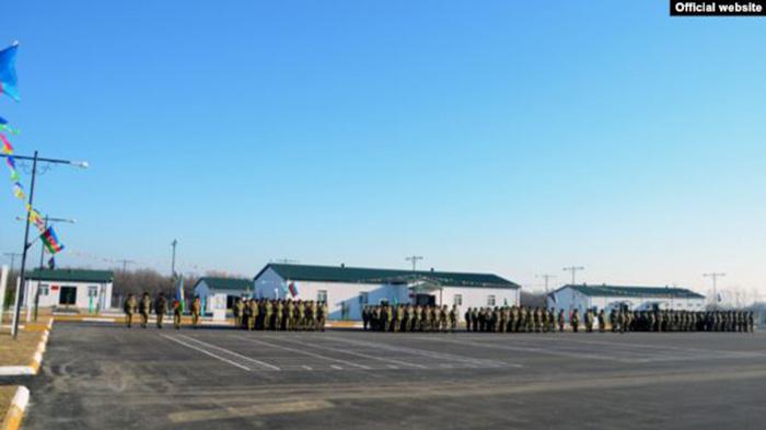 azeri military base