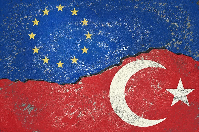 Eu-Turkey Flags