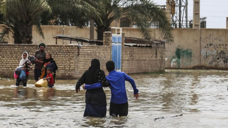 iran flooding